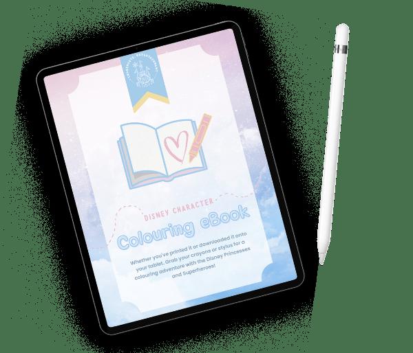 free disney colouring book