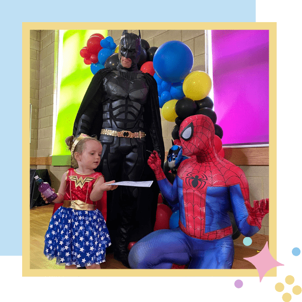 Superhero Parties | The Packages | Imaginacts Entertainment