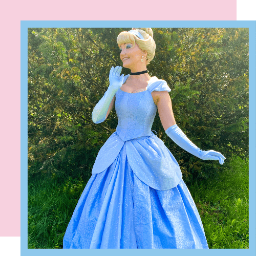 Glass Slipper Princess   Fairytale Character   Imaginacts Entertainment
